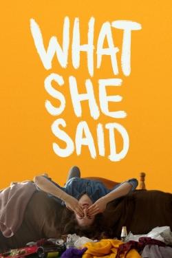 watch-What She Said